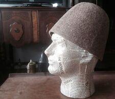 Whirling Dervish Rumi Sufi Sultan Hat from Ottoman Konya Sheep Camel Wool Felt N