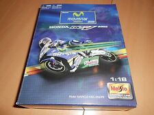 maquette moto gp HONDA RCV 211 marco melandri  au 1/18 - neuve