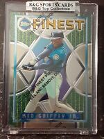 KEN GRIFFEY JR. 1995 TOPPS FINEST WITH COATING RARE CARD NICE  SEATTLE MARINERS