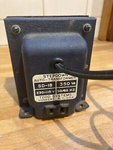 Todd Systems SD-18 Stepdown Auto-Transformer 350W 230V:115V 50/60Hz 3.0A