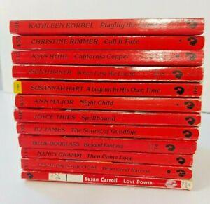 Silhouette Desire,  Romance Novels, Bulk Lot of 12 books