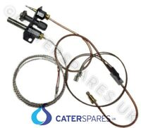 FALCON 537350004 DOMINATOR GAS FRYER PILOT ASSEMBLY THERMOCOUPLE THERMOPILE