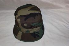 Army Woodland Cap USGI US Military BDU Uniform Hat Hot Summer Weather Size 7 3/8