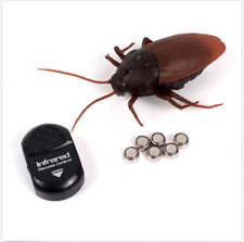 Wireless Remote Control Mock Fake Prank Insects Cockroach Scary Gift RC Toys