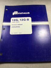 Fiat Allis 12G, 12G-B Crawler Loaders Undercarriage Service Manual