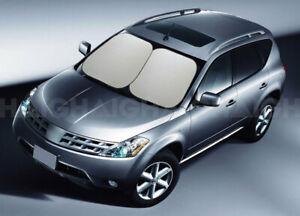Sunland Large Interior Reflex Sun Shade Front Windscreen Twin Pack
