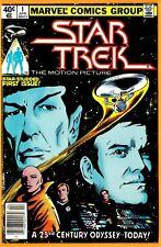 Star Trek The Motion Picture/Marvel Comic Book-#1(Bronze)/1980