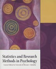 Statistics and Research Methods in Psychology by Pearson Education