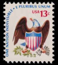 Scott 1596d Eagle 13c Scarce Line Perforated 11 Americana Issue MNH - Buy Now