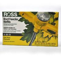 Ross Root Feeder Refills Green-Again Fertilizer For All Plants and Shrubs 54