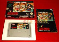 SUPER MARIO ALL STARS Super Nintendo Snes Versione PAL Italiana - COMPLETO