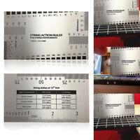 Lineal Gitarre String Action Gauge Ruler Geigenbauer Für Guitar Bass 1 Stück