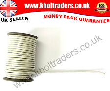 White Mylar Silver Cord 15mm Round for Army, Military, Uniform, Costume, Fancy