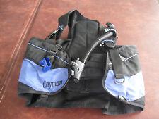 Cayman Genesis Scuba Diving Vest Men's Size Xl Bcd Buoyancy Compensator Device
