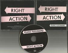 FRANZ FERDINAND Right Action 2013 USA Pressing PROMO Radio DJ CD single MINT