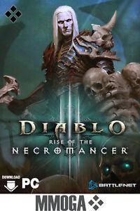 Diablo 3 III Rise of the Necromancer Key - PC Battle.net Addon Code RPG [EU/DE]