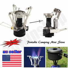 Portable Mini Outdoor Camp Picnic Gas Butane Propane Canister Stove Burner