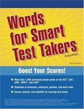 Words for Smart Test Takers 2nd Edition Academic Test Preparation Series