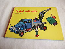 GDR Children Book Picture Book with Sandman Toy Play with Me Konrad Golz 1973