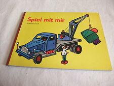 DDR Kinderbuch Bilderbuch mit Sandmann Spielzeug Spiel mit mir Konrad Golz 1973