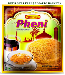 AHMED PHENI FRIED VERMICELLI DESSERT NOODLES TRADITIONAL SWEET DISH 200g
