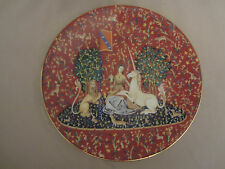 Lady And The Unicorn #2 collector plate Sight Haviland 1978 Limoges