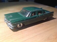 Dinky 191 Dodge Royal Sedan - Green with Black Tires