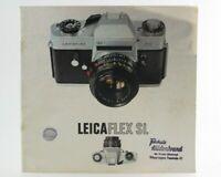 Broschüre Leitz Leicaflex Leica Flex SL S L Zeitschrift