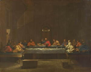Nicolas Poussin Eucharist Giclee Art Paper Print Paintings Poster Reproduction