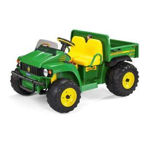 John Deere Gator HPX Elektro-Traktor Geländefahrzeug Kipper Lader Traktor grün