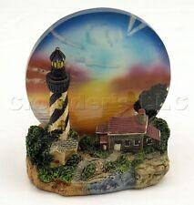 Decorative Light House Design Tea Light Holder w/ Translucent Glass Skyline