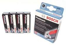 BOSCH OE FINE WIRE PLATINUM Spark Plugs 0242236615 6722 Set of 4