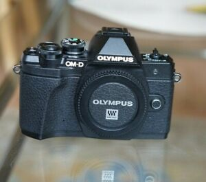 Olympus OM-D E-M10 Mark III 16.1MP Micro Four Thirds camera – black body only