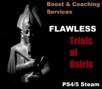 Trials of Osiris Flawless Guaranteed 24h (PC, PS4/5, Boost & Coaching Services)