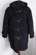 BURBERRY tg. 10 vintage duffle coat cappotto montgomery jacket lana wool H1500