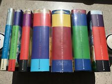 RARE, SIGNED Harry Potter Hardcover Set 1-7 JK Rowling 1st EDITION 1st PRINTINGS