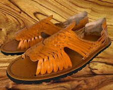 SIZE 13 MENS PACHUCO LEATHER AUTHENTIC MEXICAN SANDALS
