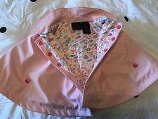 Cynthia Rowley Size 3-6 Months Baby Girl Rain Coat/Cape