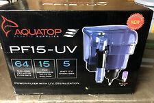 Aquatop Power Filter With UV Sterilization 64gph 15gal