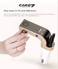 USB Car harger Bluetooth FM Transmitter MMC Mp3 Player for iPhone 7 6 6S plus US