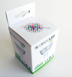 10 x EcoLED MR16 LED Spotlights Cool White