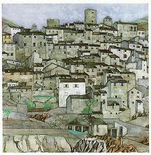 Palalda, Pyrennes Charles Rennie Mackintosh 10x12 inch ready mounted print