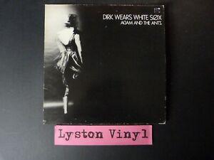 "Adam And The Ants - Dirk Wears White Sox 12"" Vinyl LP"