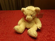"NWT 11"" Russ Bear Essence SHERRY White & Red BEAR (G19)"