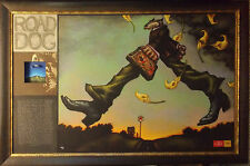 "Markus Pierson ""Road Dog"" 2006 Mix Media on Panel w/custom framed Hand Signed OB"