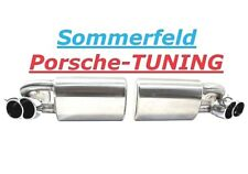 Porsche 996 Turbo clapets échappement 200 Cellules catalyseur Valved exhaust muffler PSE