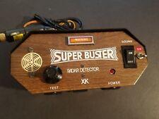 Vintage Probado Bueno 1970's Super Buster Radar Detector