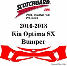 3M Scotchgard Paint Protection Film Pro Series Fits 2016 2017 2018 Kia Optima SX