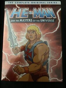 He-Man and the Masters of the Universe: The Complete Original Series (DVD,...