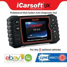 2020 iCarsoft CR V2.0 Full System Diagnostic Scan Tool 10 Manufacturers Optional